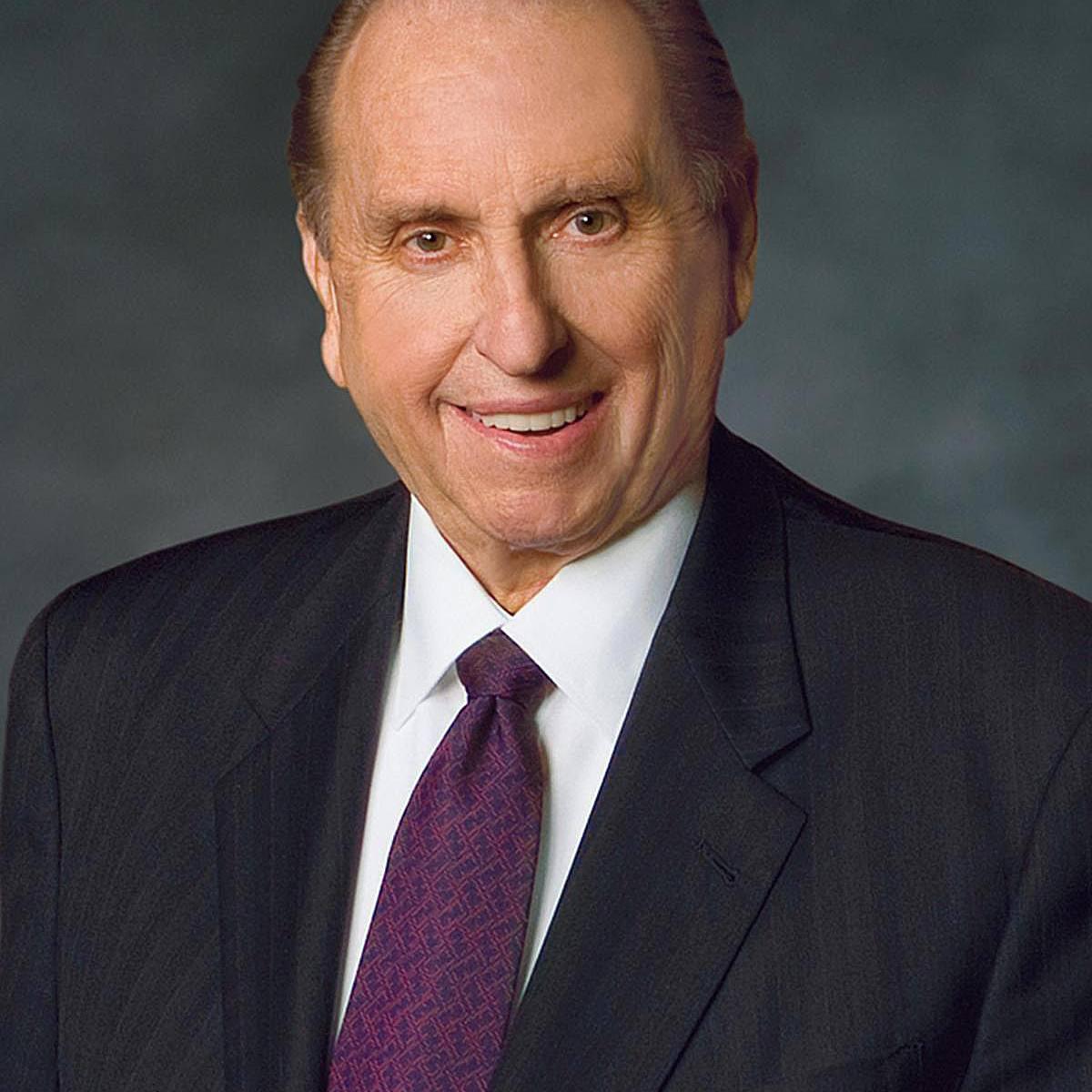 Church president Thomas S. Monson.