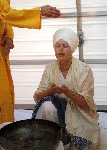 Amritsanchar Sikh Baptism Initiation Ceremony