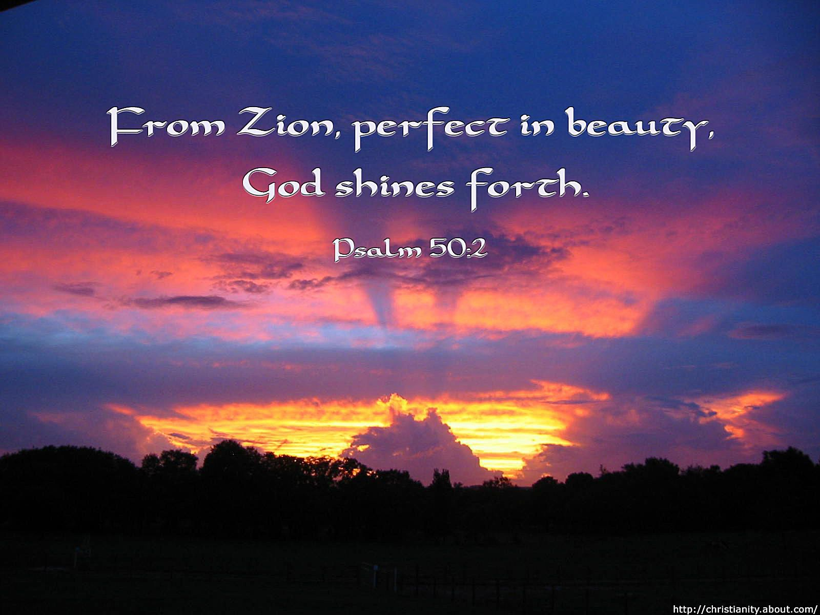 God Shines Forth with bible verse