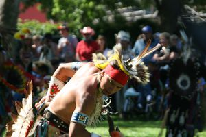 Powwow Men Dance Competition