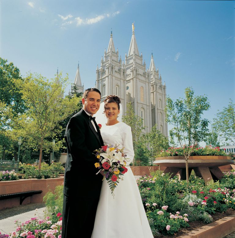 Temple marriage salt lake temple