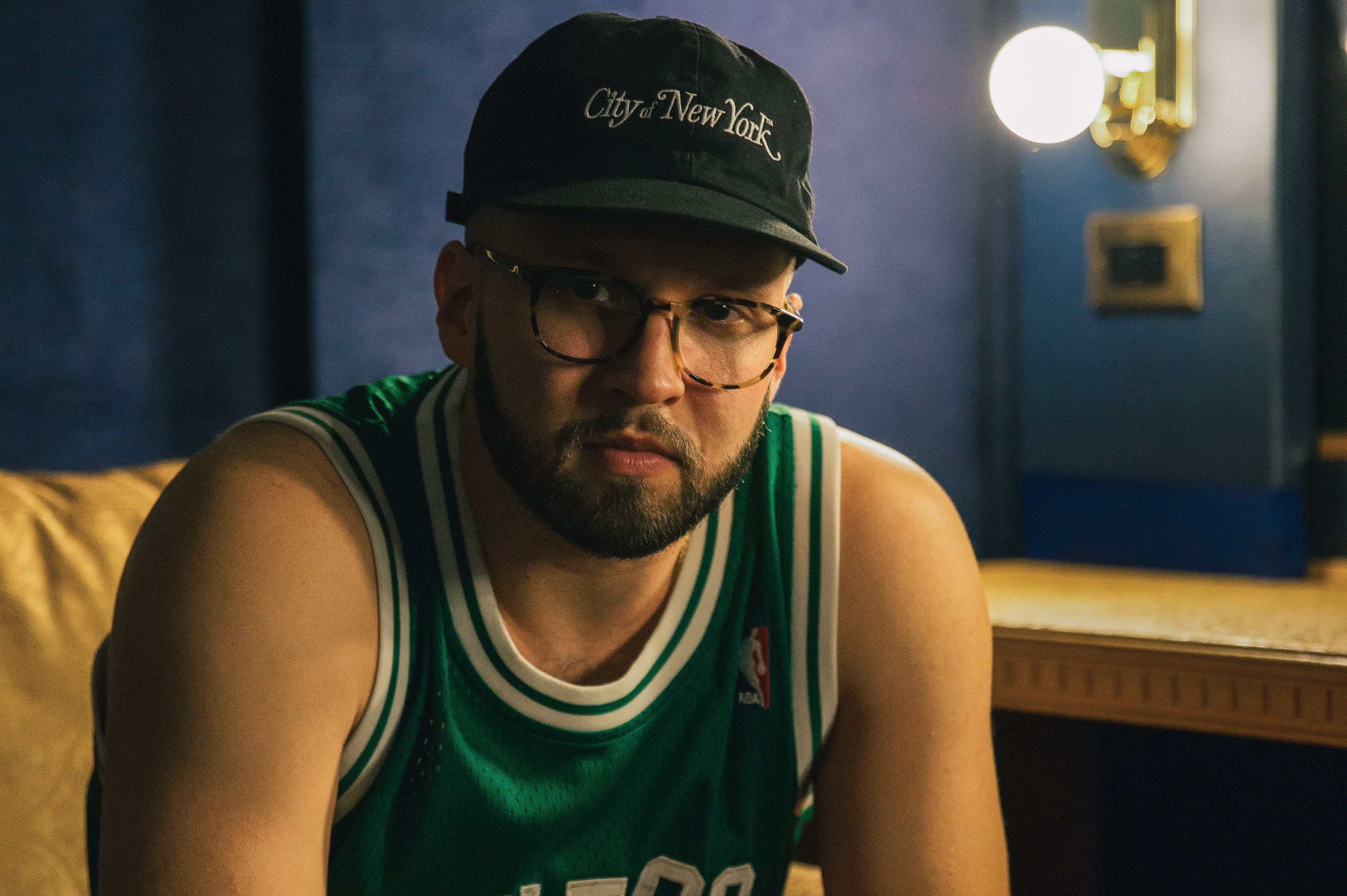 Andy Mineo posing for a promotional photo.