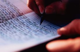 Handwriting in Journal