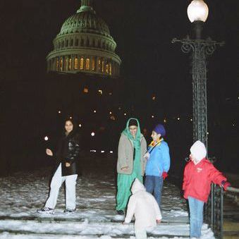 Sikh Americans and the Capitol Building Night Life