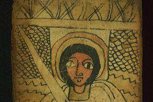 An Ethiopian scroll with prayers to Archangel Phanuel