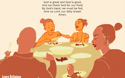 13 Traditional Dinner Blessings and Mealtime Prayers