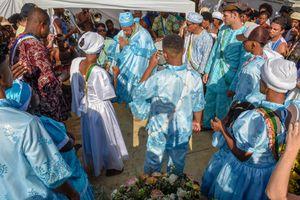 Candomblé ceremony