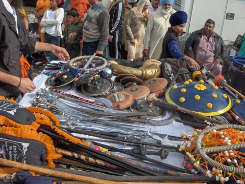 Yuba City Parade Gatka Weaponry