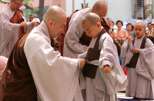 Korean Chogye Monks
