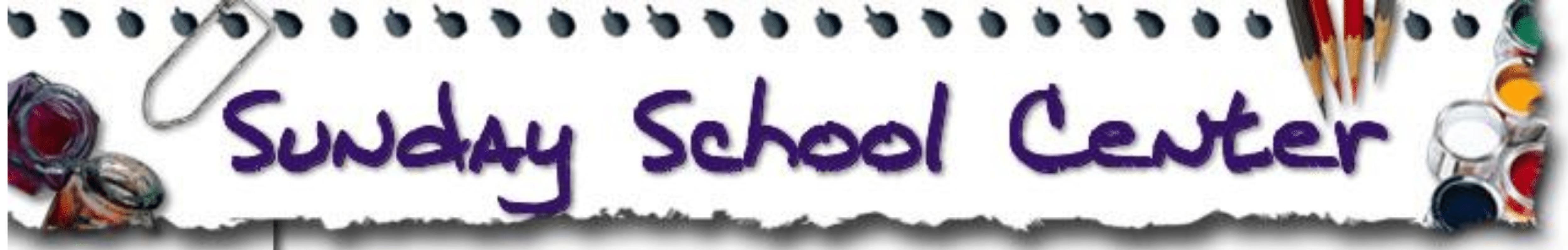 Christian website banner.