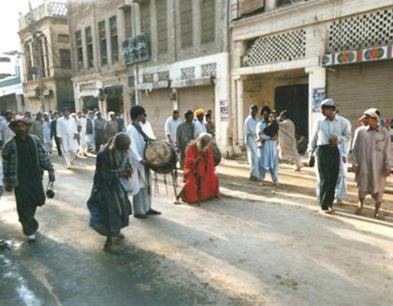 Red Robed Sufi of Modern Nankana Sahib