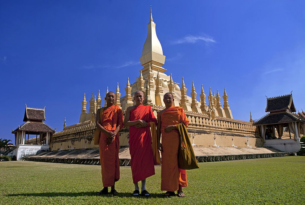 Wat Pha That Luang, The Golden Temple, Laos