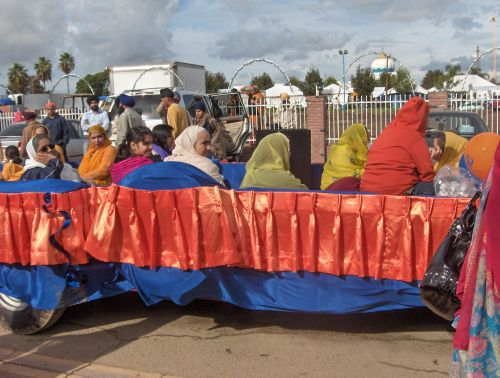Yuba City Float Filled With Sikh Devotees