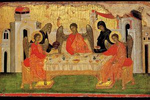 The Hospitality of Abraham (Icon of the Holy Trinity)