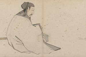 Zhang Lu's painting of Lü Dongbin