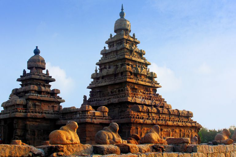 UNESCO Site Shore Temple of Mahabalipuram
