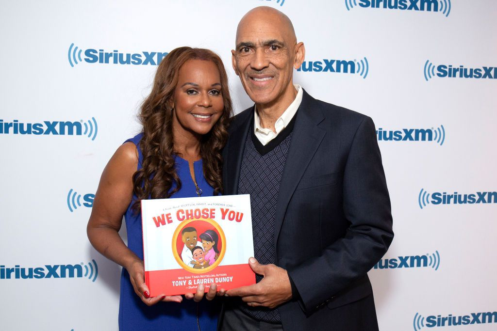 Lauren and Tony Dungy
