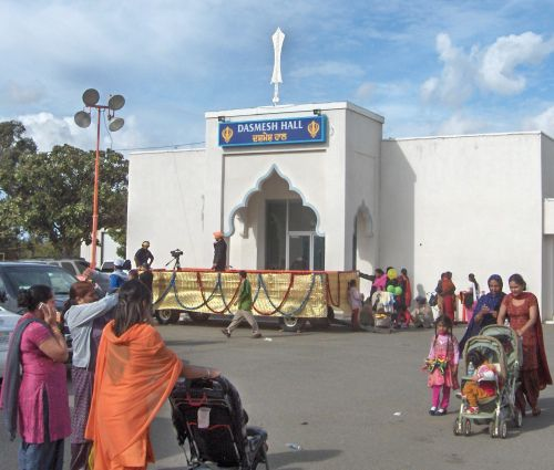 A Worship Hall at the Yuba City Gurdwara