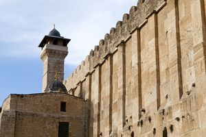 Ibrahimi Mosque (Cave of the Patriarchs) in Hebron, West Bank