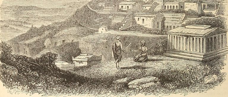Image of Antioch from an illustrated Bible.