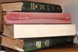 Popular Bible Translations