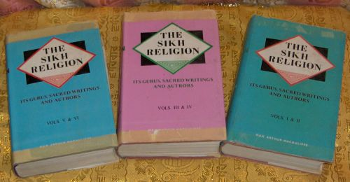 """Hard to find 1963 publication of """"The Sikh Religion"""" by Max Arthur Macauliffe"""
