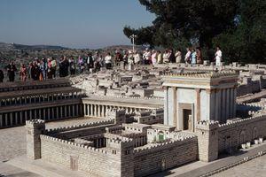 Miniature Reconstruction of Second Jewish Temple