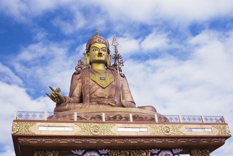 Padmasambhava Samdruptse statue, Sikkim, India