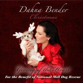 Dahna Bender - Christmas A Giving of the Heart cover