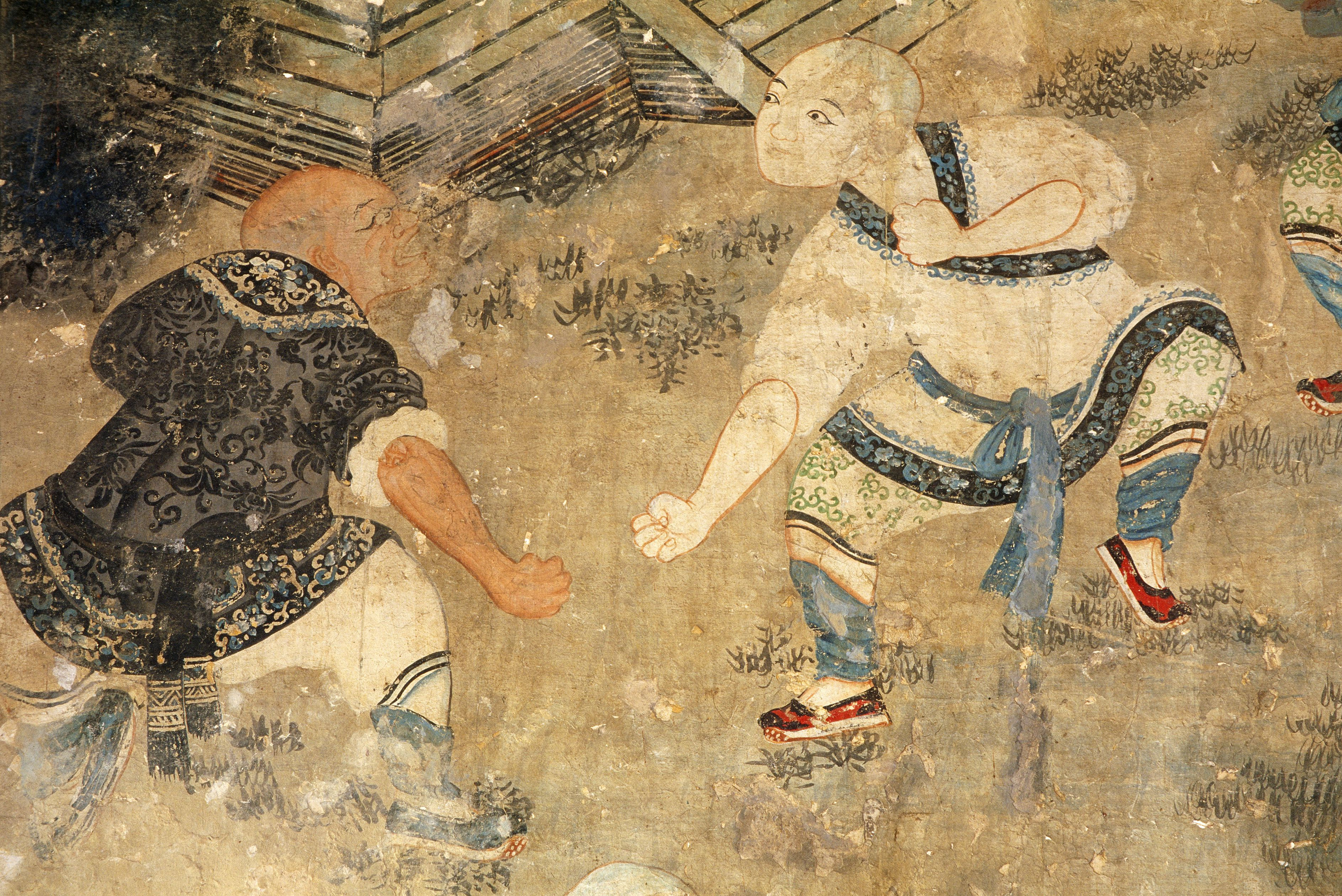 Qing Dynasty Painting Shaolin