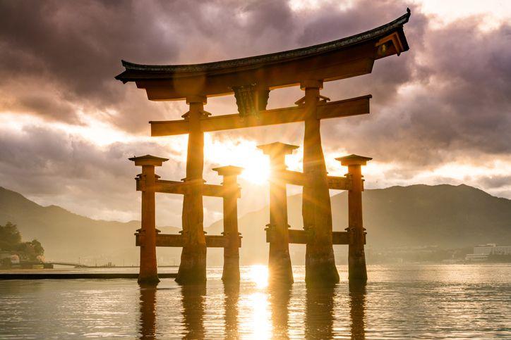 Torii of Itsukushima Shrine