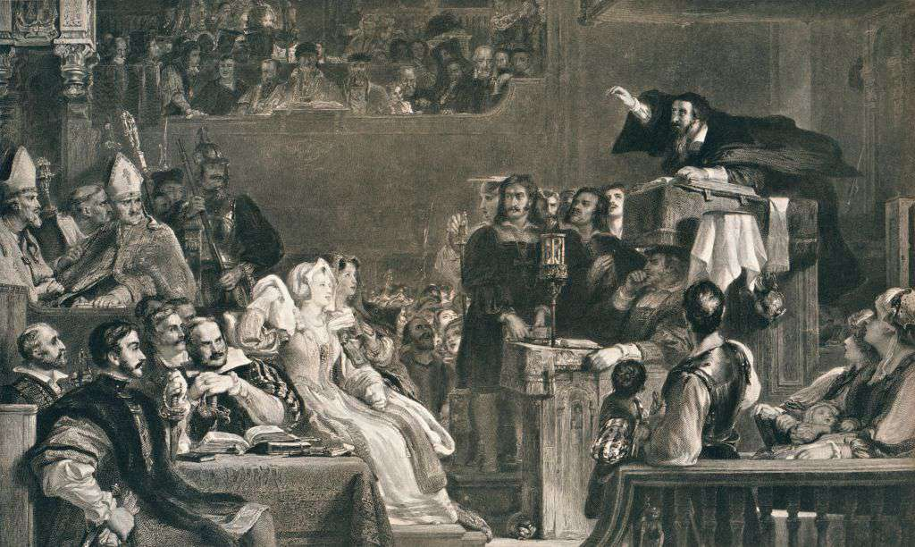 John Knox Preaching before the Lords of the Congregation