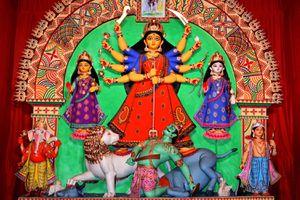 Sovabazar Beniatola Durga Puja 2012