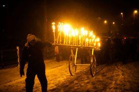 Marsden Imbolc Fire Festival 2012
