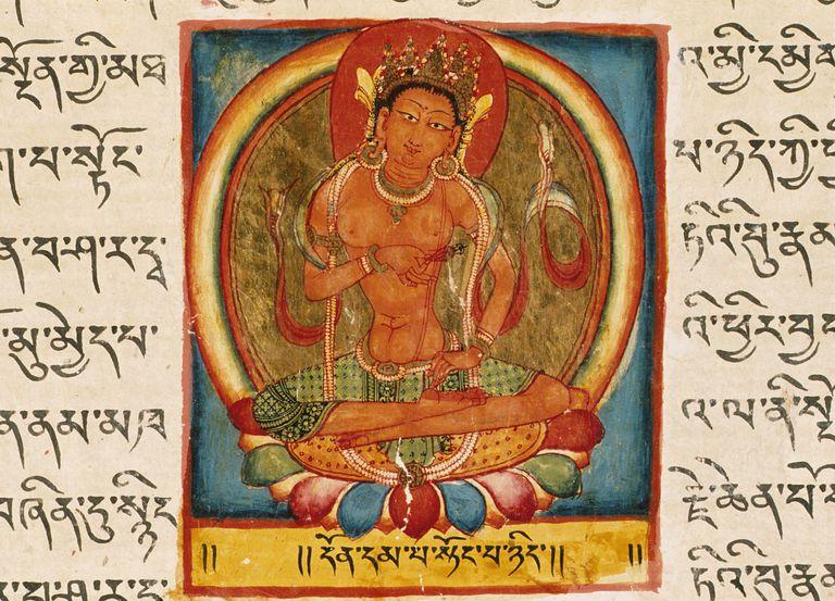 Folio From a Shatasahasrika Prajnaparamita