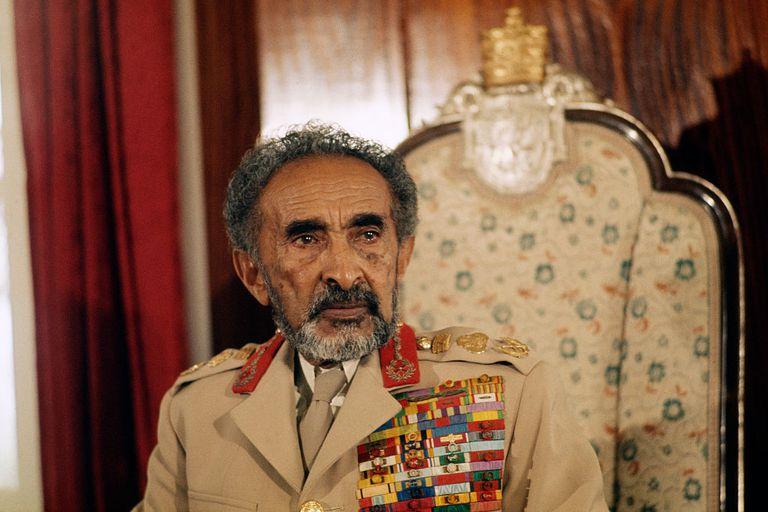 Emperor of Ethiopia Haile Selassie