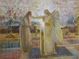 Archangel Gabriel and Zacharias