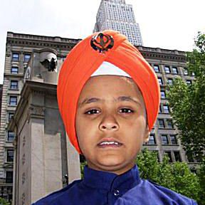 Sikh American and the Empire State Building