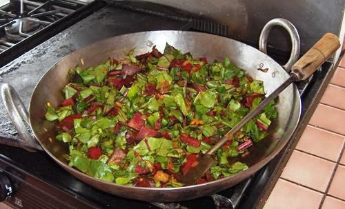 Cook Beets With Onions