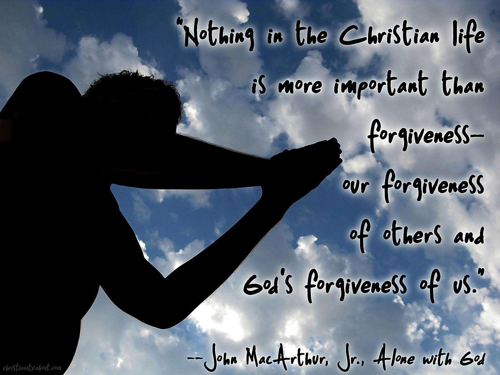 Forgiveness Is Essential