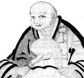 Hakuin, Self-Portrait
