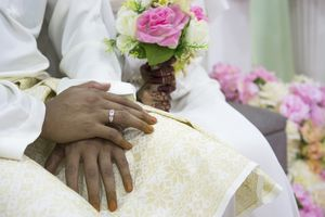 Solemnization of bride and groom
