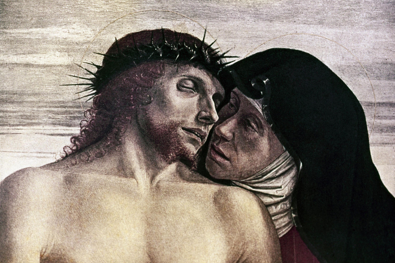 Pieta. Giovanni Bellini.