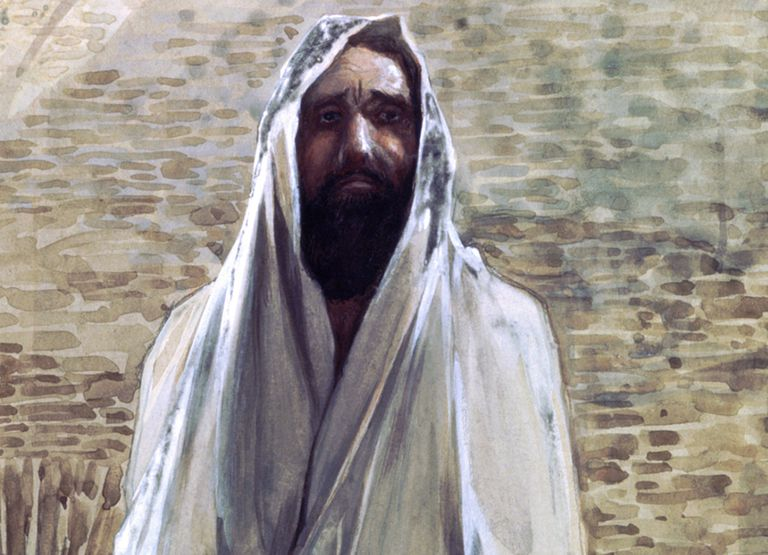 Malachi the prophet, painting by James Tissot.