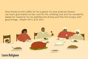 Thanksgiving Bible verse