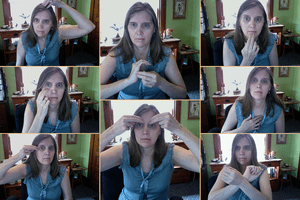 Collage of Meridian Tapping Points