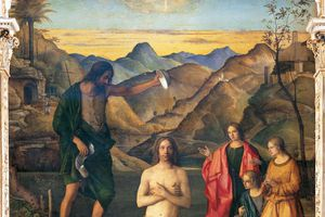 Baptism of Christ, by Giovanni Bellini