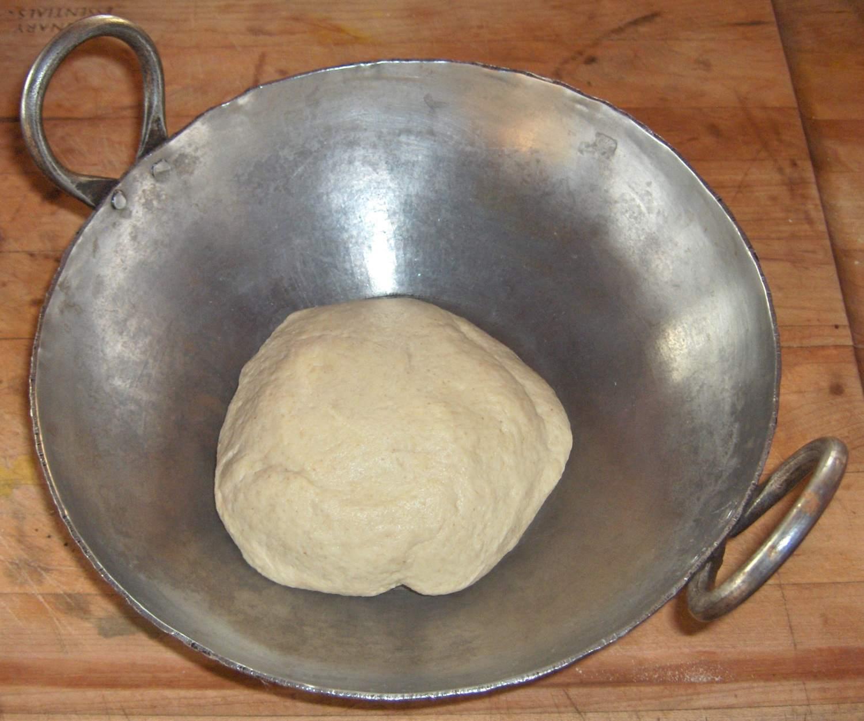 Atta Dough for Making Roti or Chapati