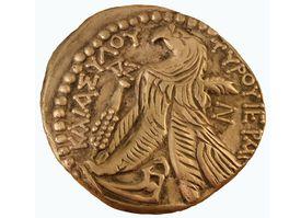 Gold Half Shekel Coin
