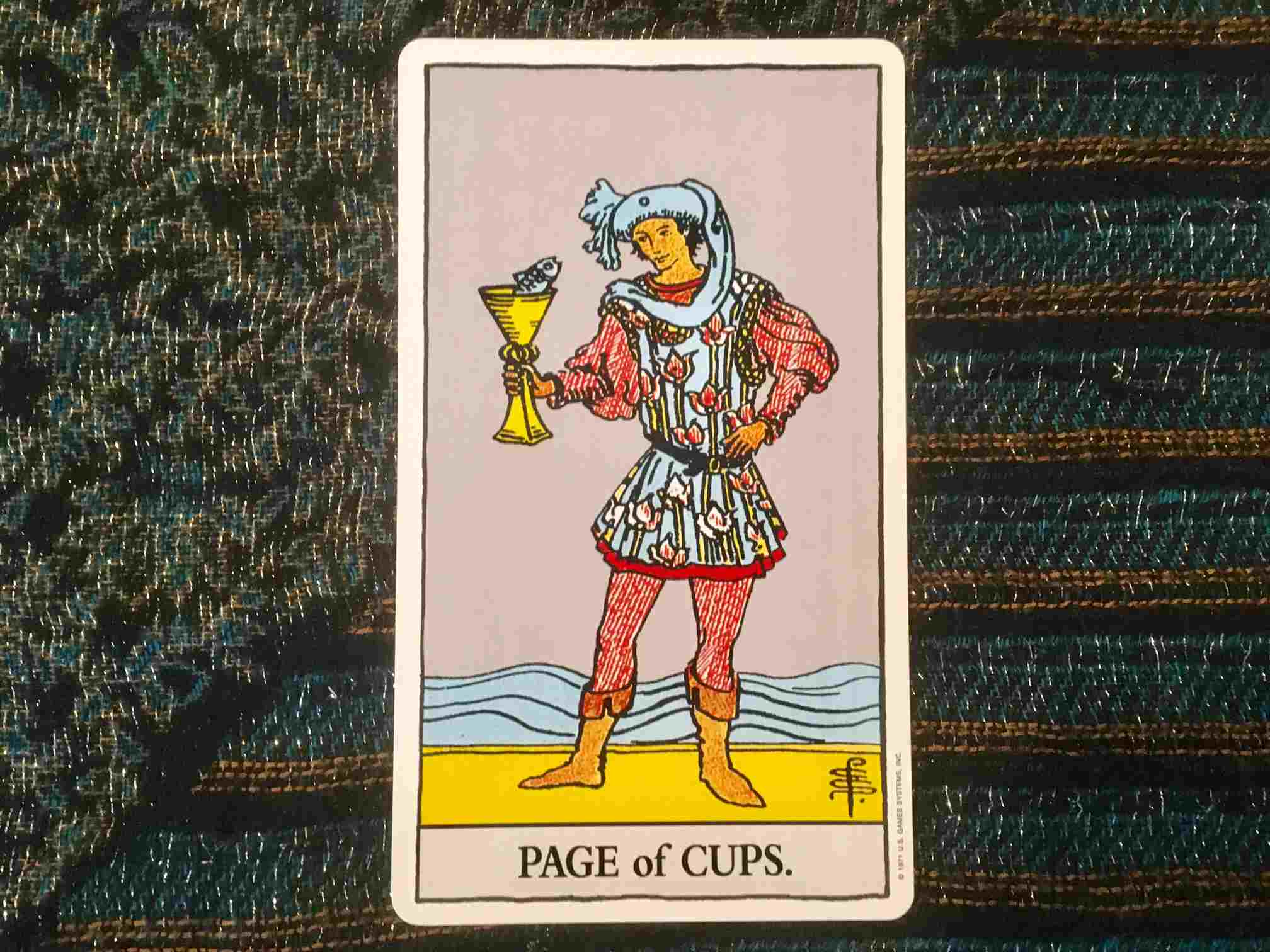 Cup Cards Tarot Meanings